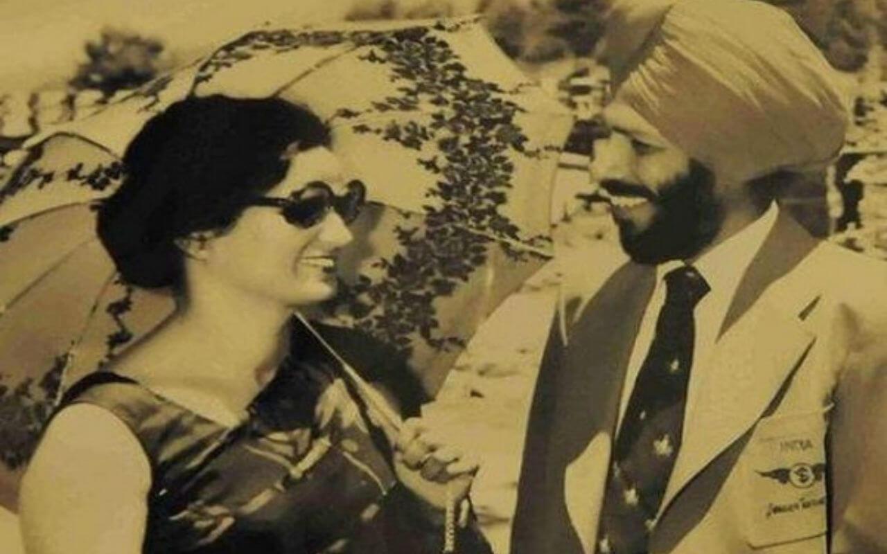 Milkha Singh and His Wife Nirmal Kaur