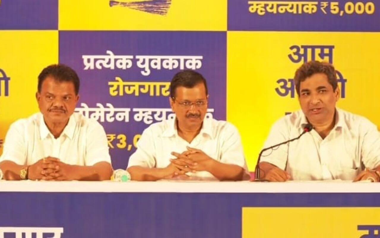 Delhi CM Arvind Kejriwal Comes To Goa