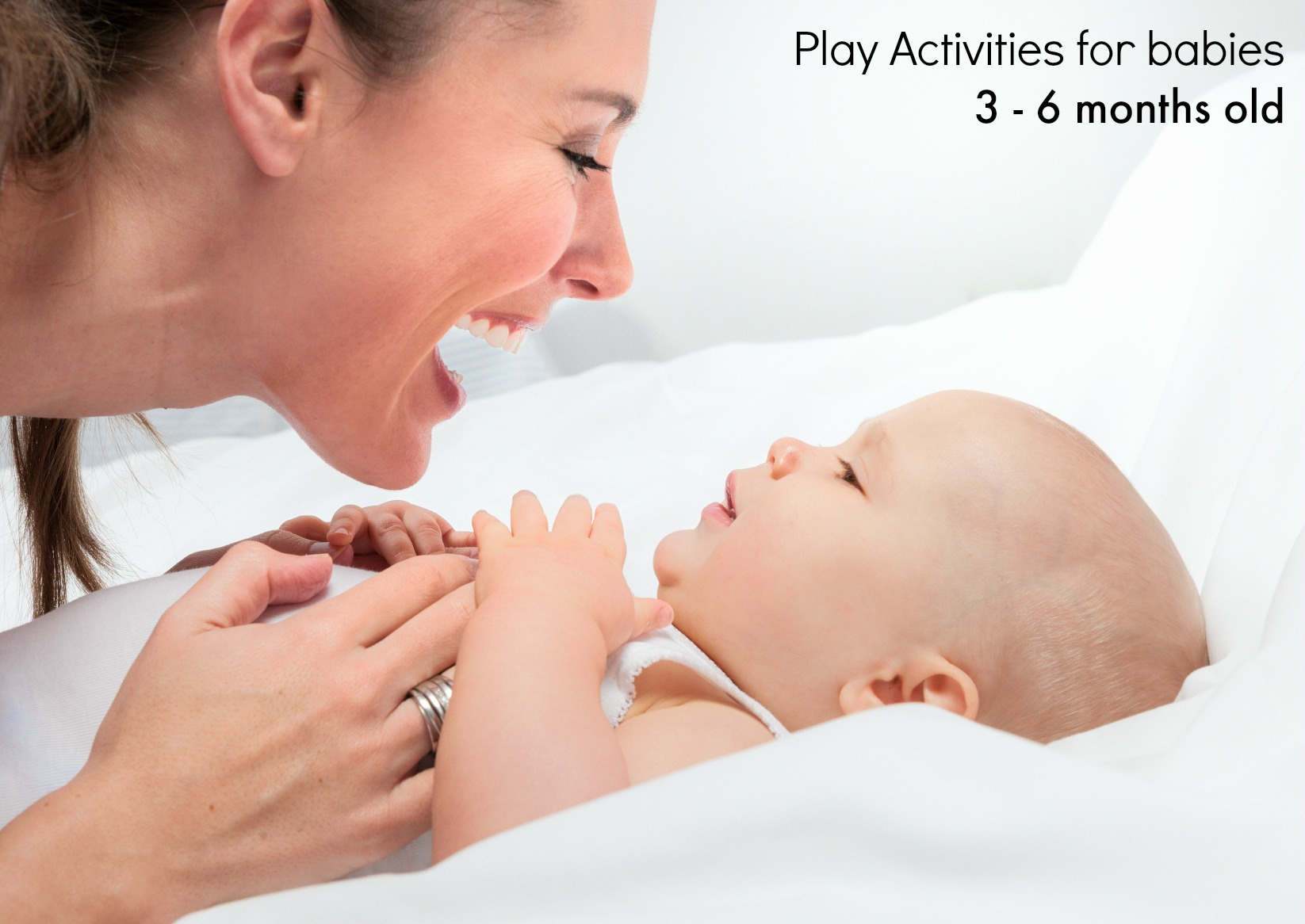 Go Ask Mum Play Activities For Babies Aged 3 To 6 Months
