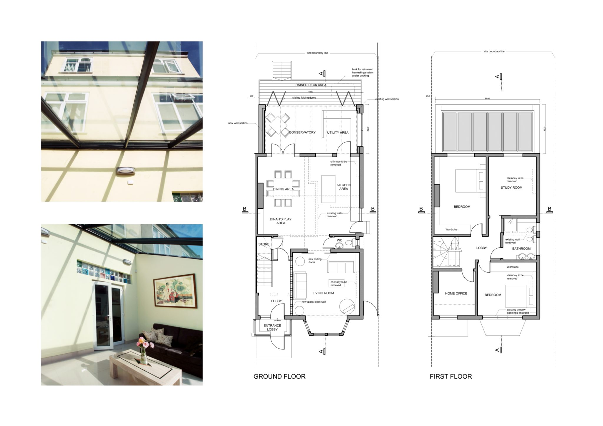 Golders Green Barnet Nw11 House Extension Design Floor Plans
