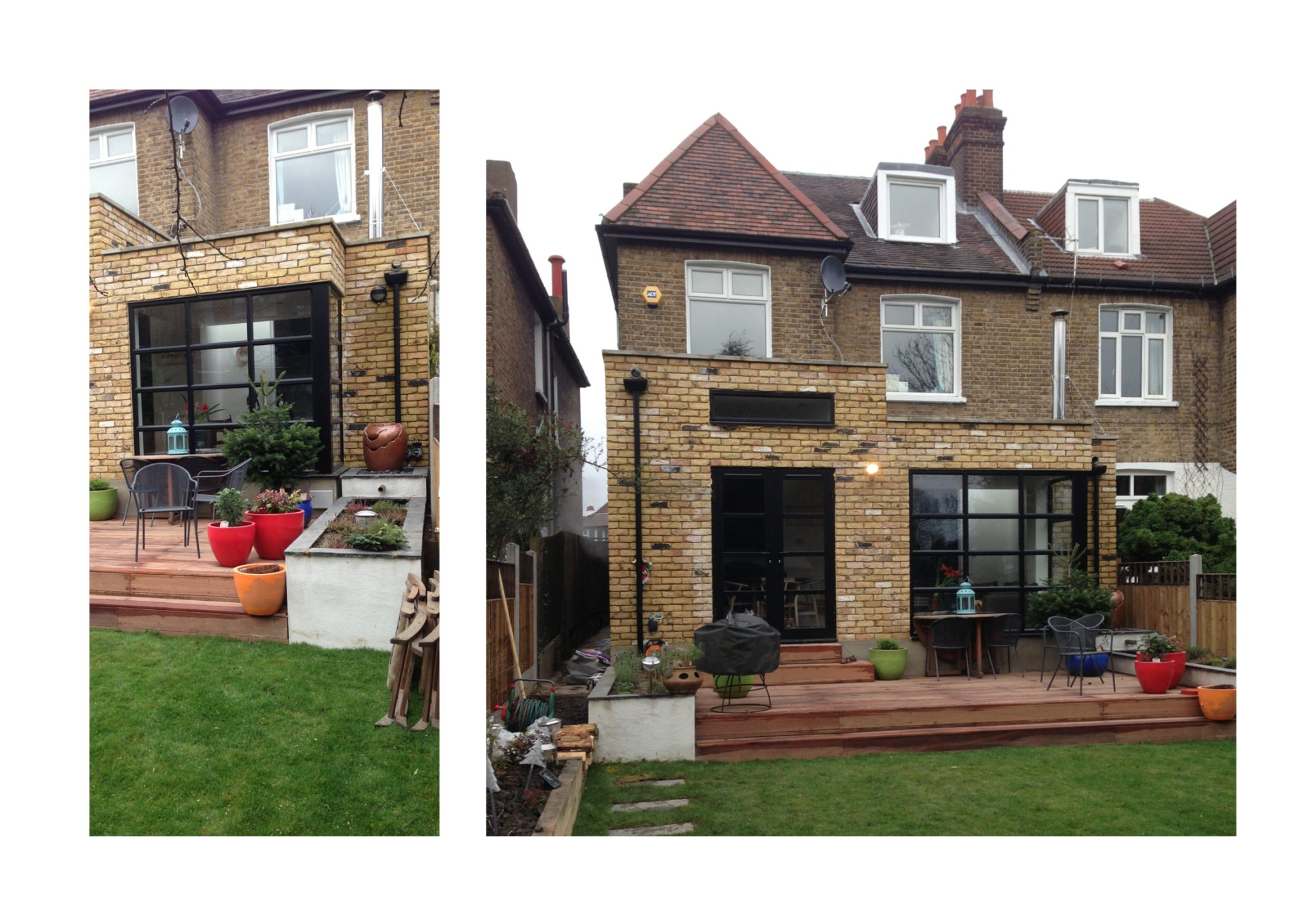 Grove Park Lewisham Se12 House Rear Extension External Photos