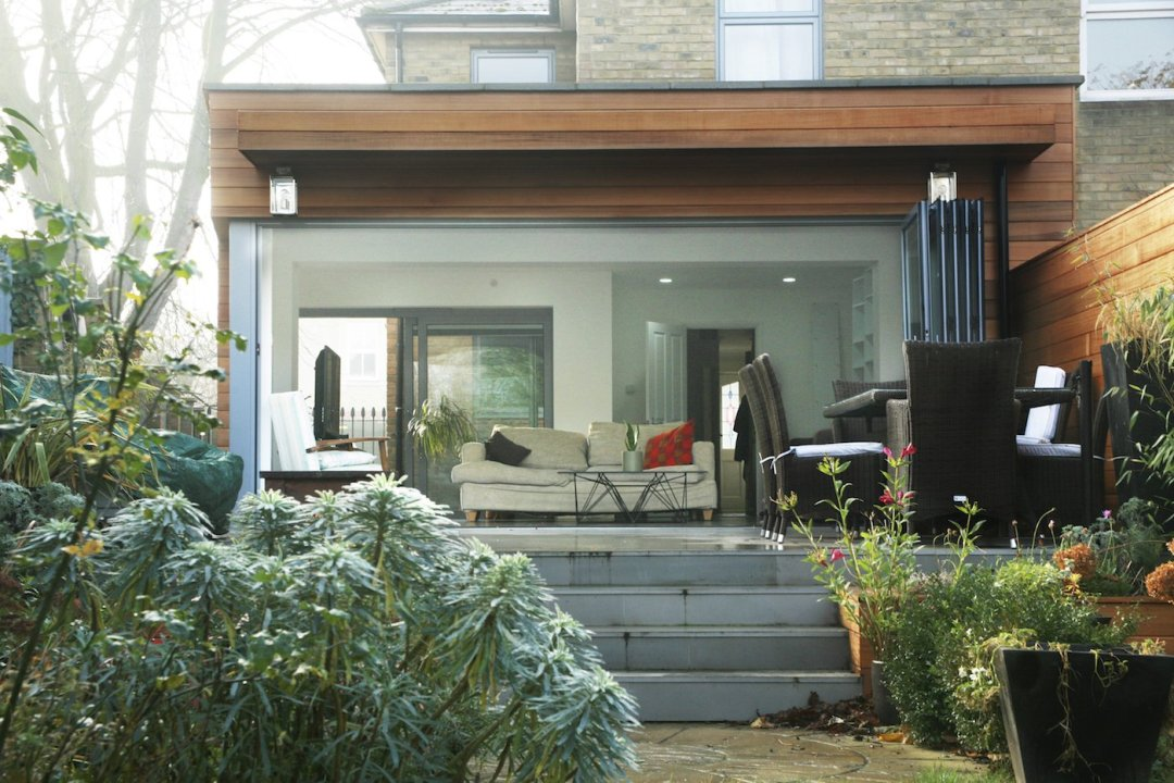 Architect designed house extension Brockley Lewisham SE4 View from the garden House extensions in London | Home Design | GOA Studio