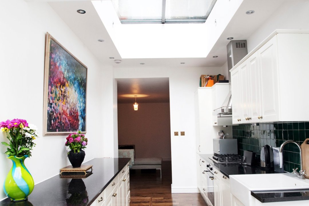 Architect designed flat extension Warwick Avenue Westminster W9 Kitchen area 2 Westminster residential architect projects
