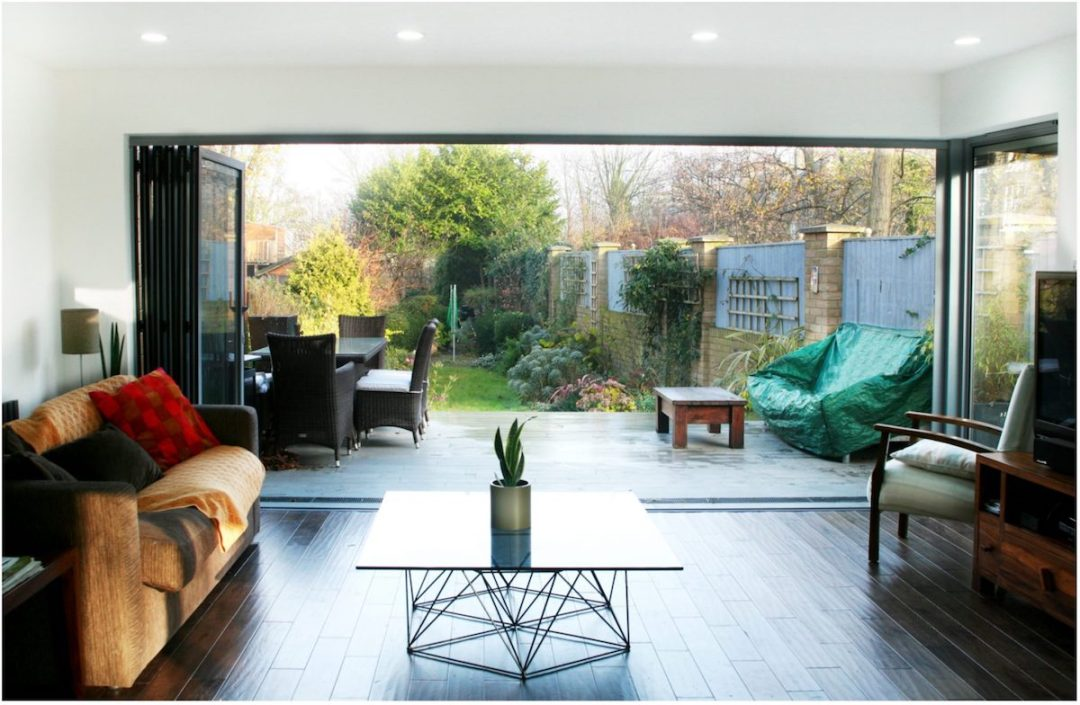 Architect designed house extension Brockley Lewisham SE4 View to the garden 4 Lewisham residential architect projects