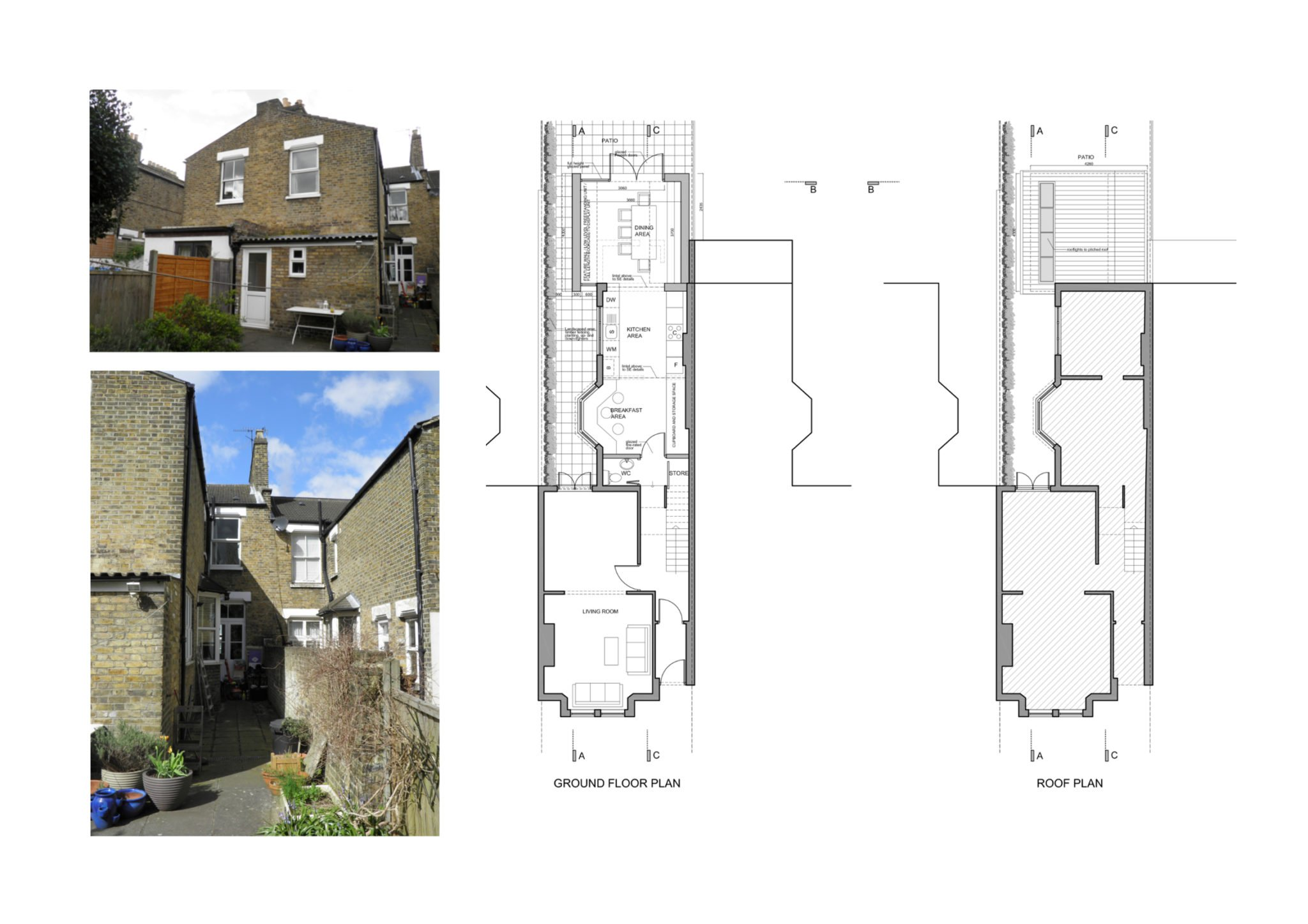 kitchen extension floor plans nunhead lewisham se15 house kitchen extension 4746