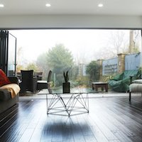 4. Architect designed house extension Brockley Lewisham SE4 View to the garden House extensions in London | Home Design | GOA Studio