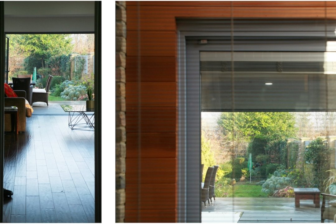Architect designed house extension Brockley Lewisham SE4 Long views from kitchen and front reception room 1200x800 Brockley, Lewisham SE4   House extension