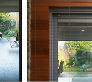 Architect designed house extension Brockley Lewisham SE4 Long views from kitchen and front reception room 300x266 Brockley, Lewisham SE4 | House extension