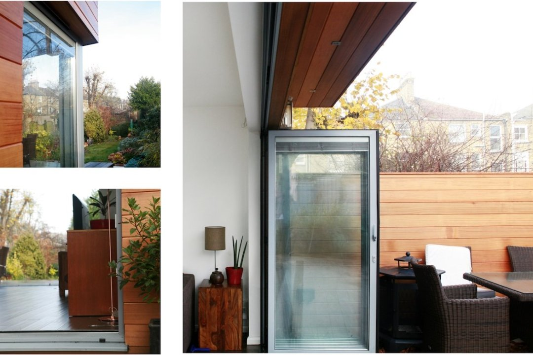 Architect designed house extension Brockley Lewisham SE4 Timber cladding and glass transparency 1200x800 Brockley, Lewisham SE4   House extension