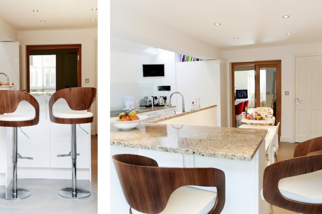 Architect designed house extension Highbury Islington N5 Side kitchen extension and spaces 1200x800 Highbury, Islington N5 | House extension