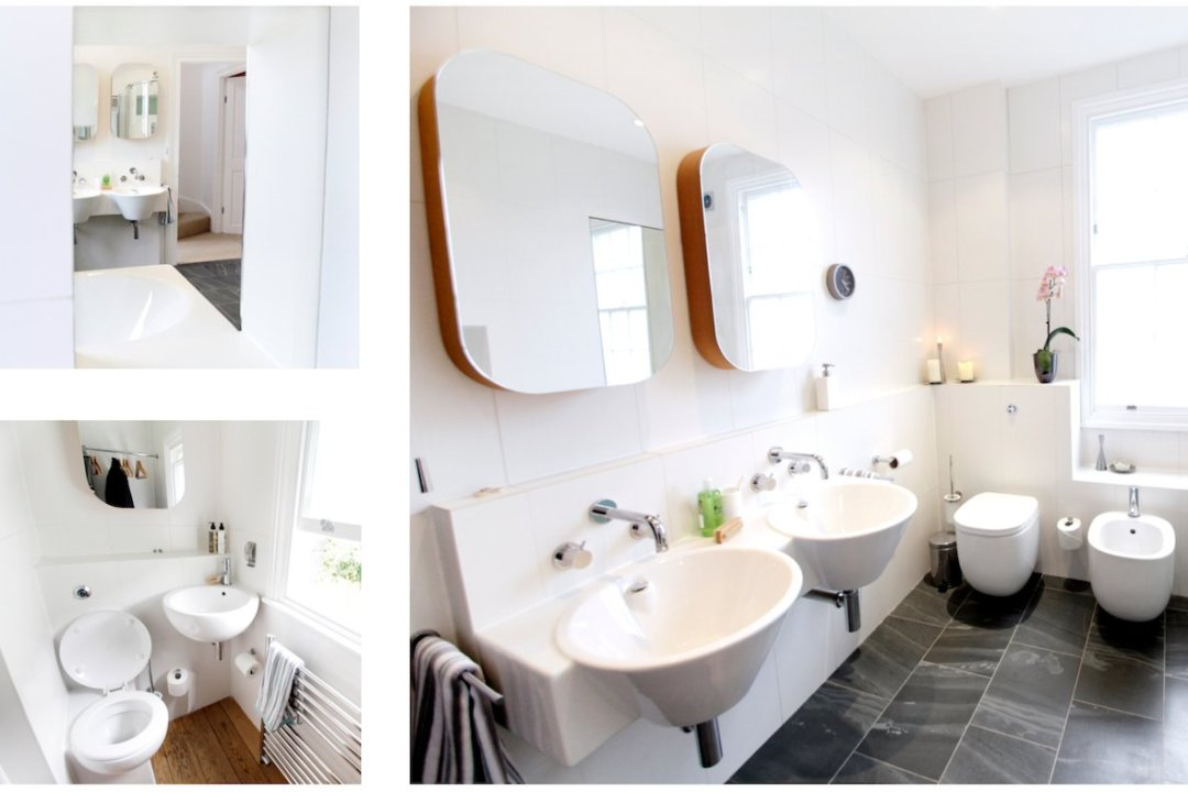 Architect designed mansard roof house extension Angel Islington N1 Family bathroom ideas 1200x800 Angel, Islington N1 | Mansard roof house extension