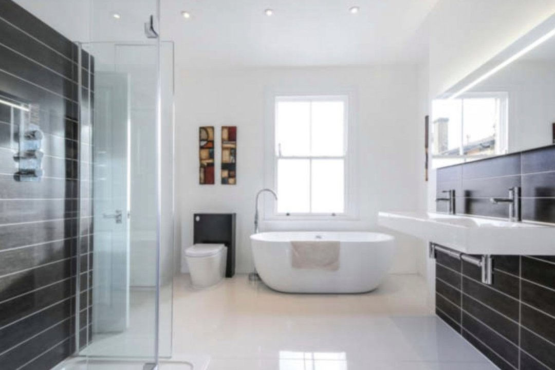 Architect designed rear house extension Herne Hill SE24 Lambeth Bathroom area2 1200x800 Herne Hill, Lambeth SE24 | House extension