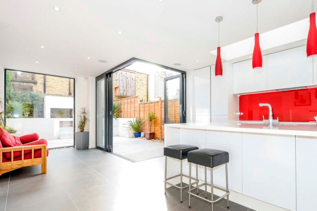 Architect designed rear house extension Herne Hill SE24 Lambeth Kitchen and garden view2 1200x800 Herne Hill, Lambeth SE24 | House extension