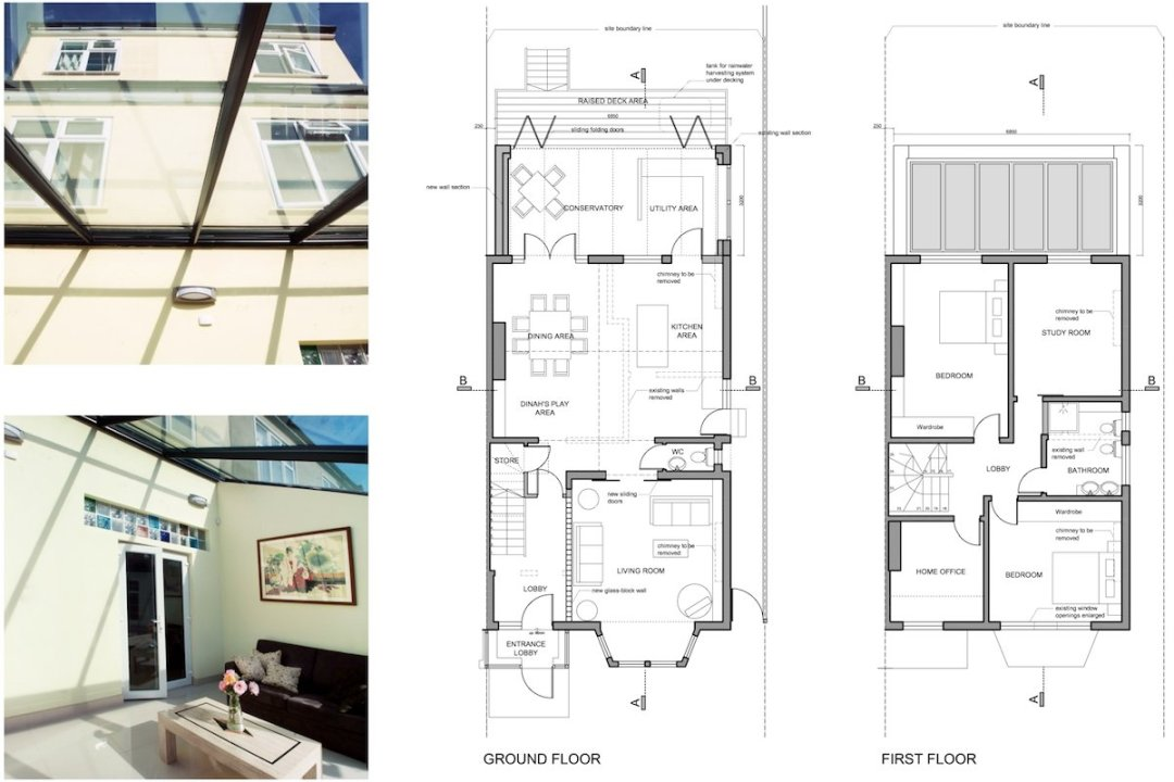 Golders Green Barnet NW11 House extension Design floor plans 1200x800 Golders Green I, Barnet NW11 | House rear extension