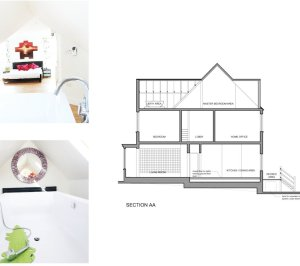 Golders Green Barnet NW11 House extension Design section 300x266 Golders Green II, Barnet NW11 | House extension