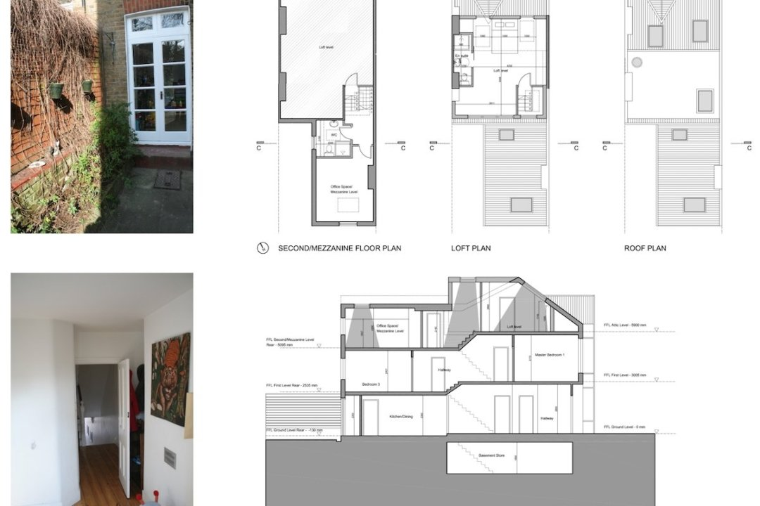 Streatham Hill Lambeth SW16 Roof extension design plans 1200x800 Streatham Hill, Lambeth SW16 | House extension