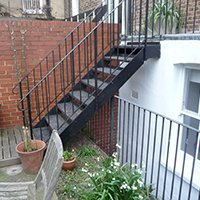 Architect designed rear house extension Tufnell Park Camden NW5 Rear Elev 200x200 Camden residential architect projects