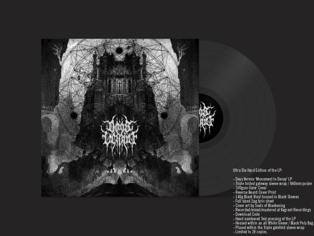 Deus Vermin Monument to Decay Vinyl LP Ultra Die Hard