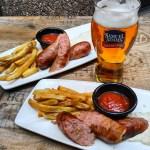 Toronto BBQ Week - Goat Roti Chronicles - Hot Link Sausage - Duck Fat Fries