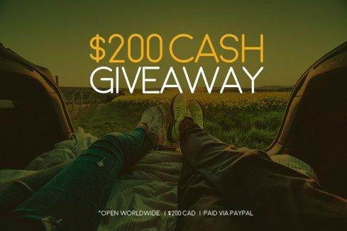 $200 CDN Cash Giveaway