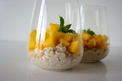 Kokosmilch Porridge