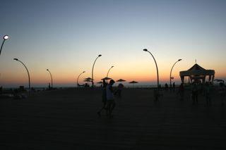 Abendstimmung am Port