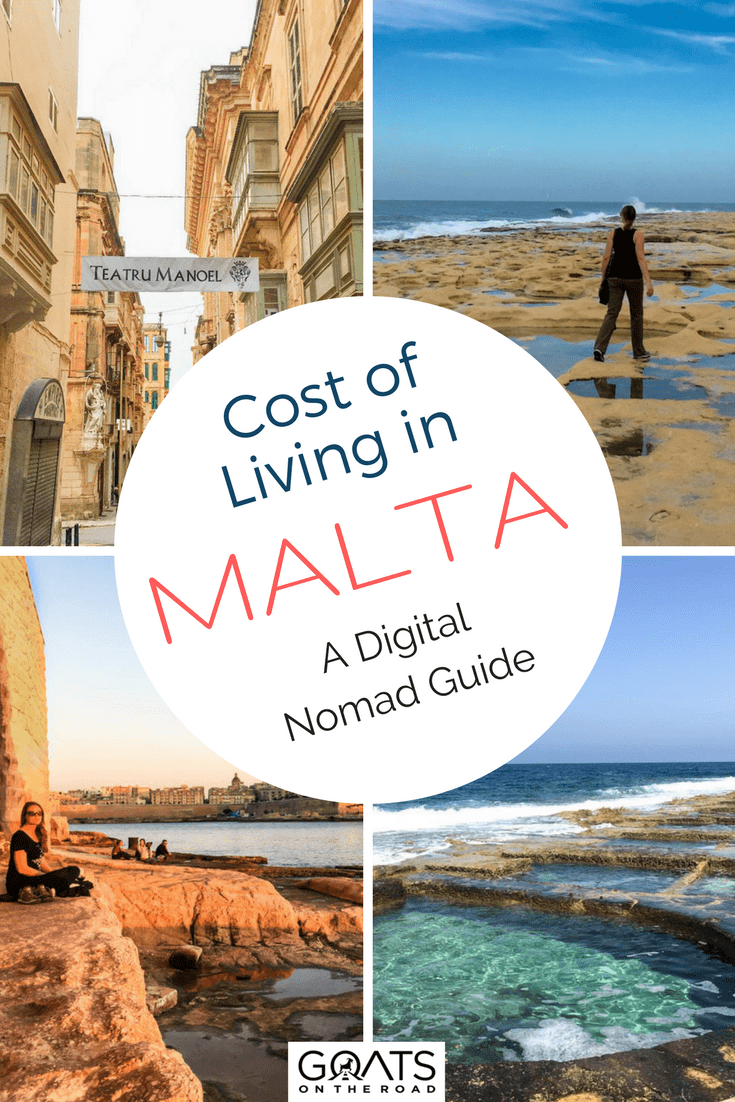 Cost Of Living In Malta A Guide For Digital Nomads