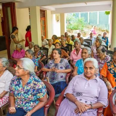 Group of Sri Lankan elders