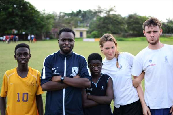 Volunteer sports coaching in Ghana with GOAT Volunteers