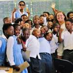 There's no shortage of personalities with these kids in South Africa!