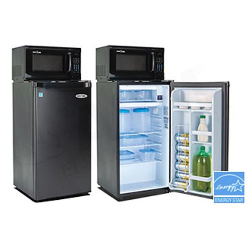 snackmate 3 2 cuft all fridge microwave combo