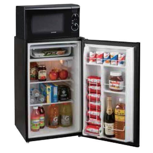 3 5 cuft tatung single plug mini fridge combo
