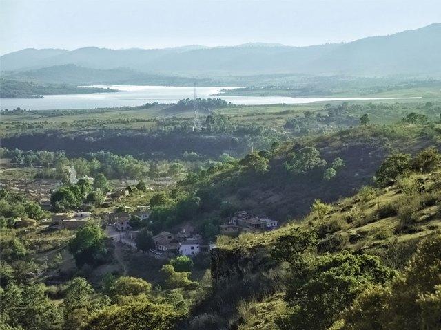 Vista panorámica de Tapalpa, Jalisco