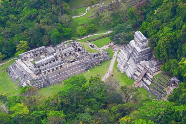 Zona arqueológica de Palenque, Chiapas