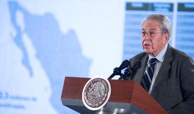 Dr. Jorge Alcocer Varela, Secretario de Salud.
