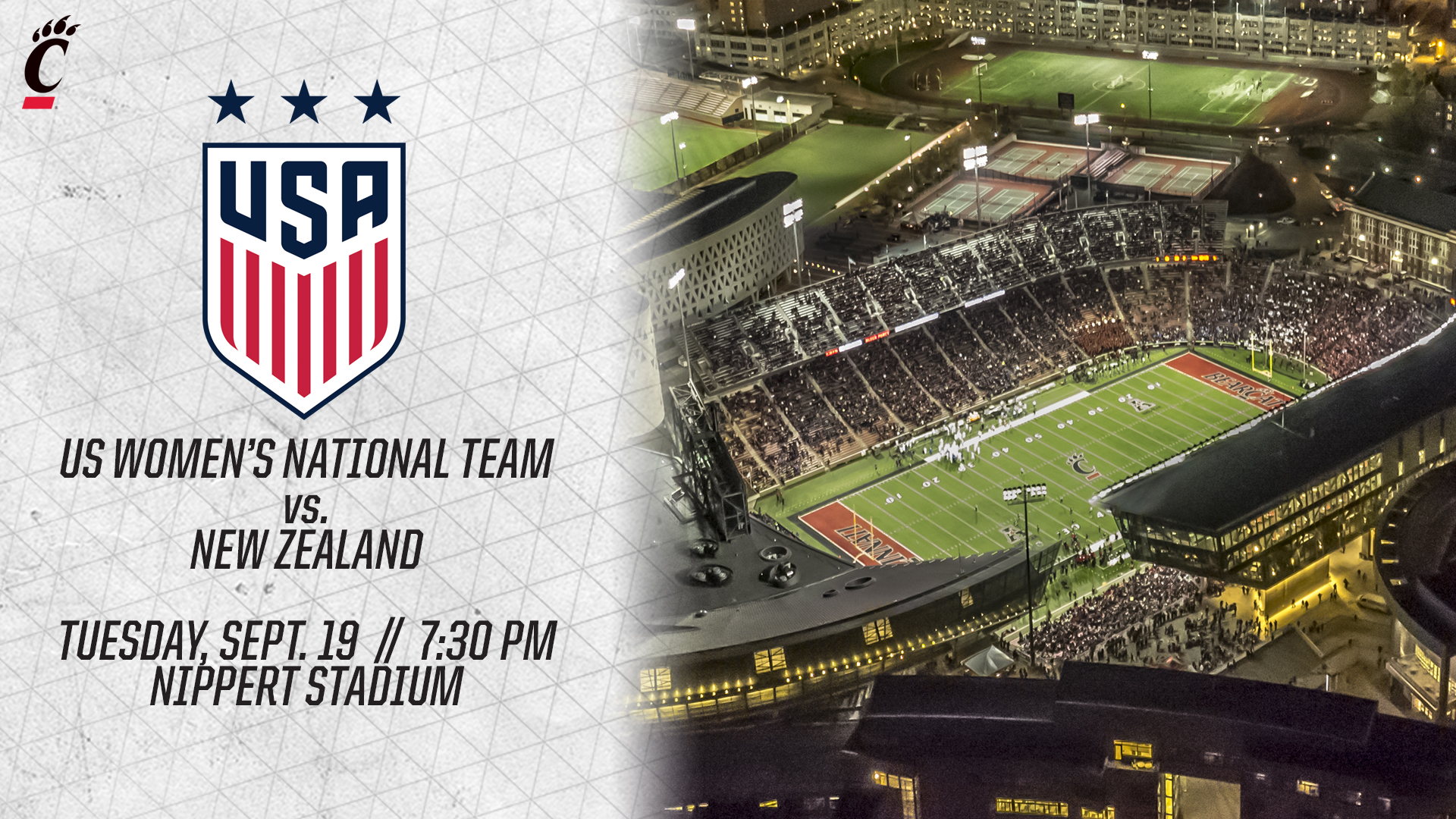 Image result for nippert stadium us women's soccer