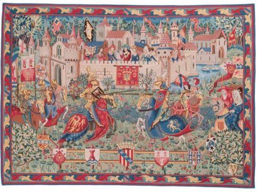 Le Tournoi De Camelot GOBELINS TAPIS