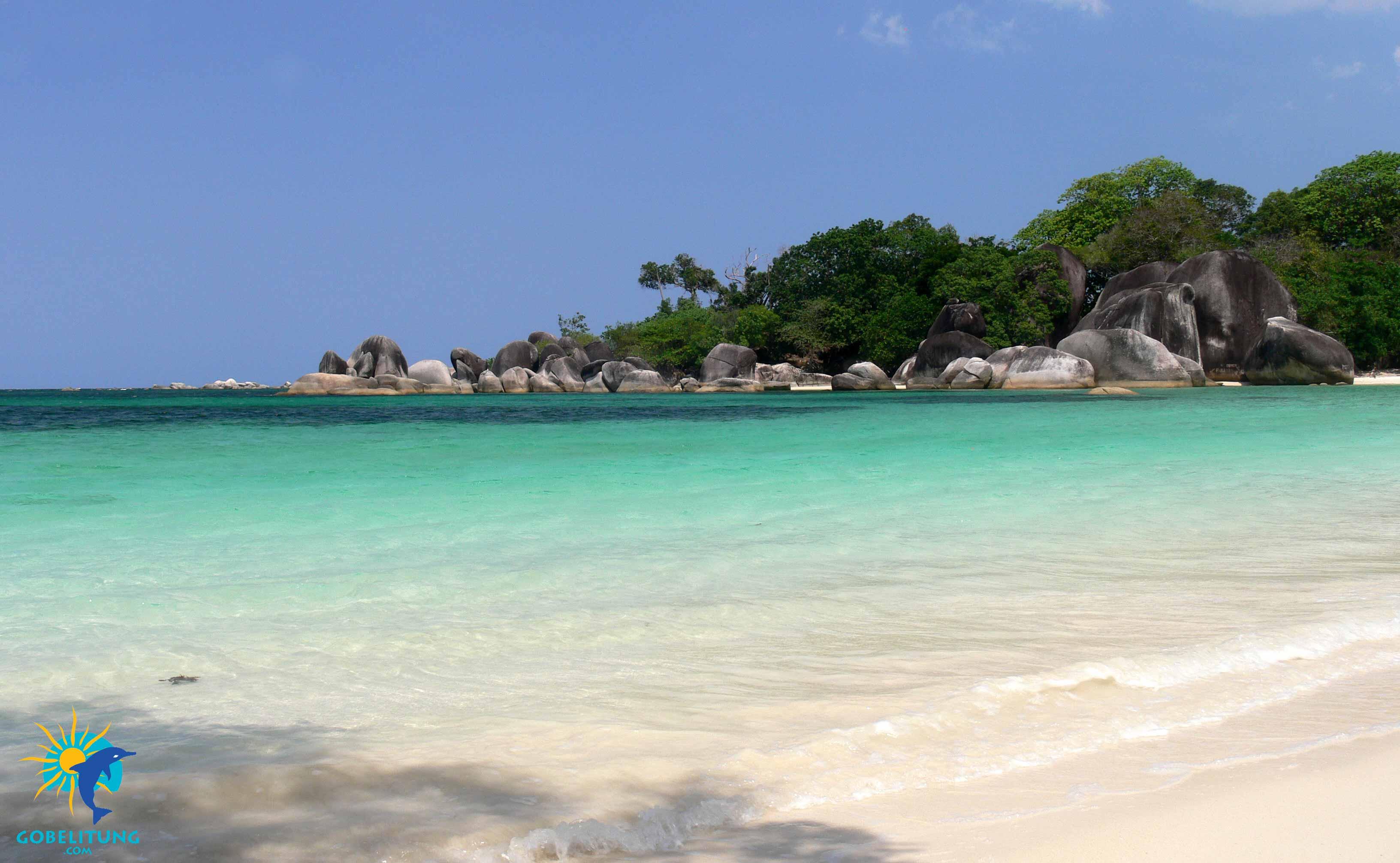 Tanjung-Tinggi Beach Belitung Indonésie