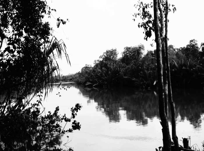 riviere Cerucuk Belitung Indonésie