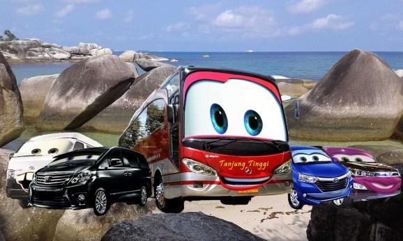 transport a Belitung bus hiace avanza innova alphard Belitung Indonesia Go Belitung