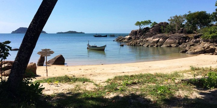 Batu Bedil sungai padang Belitung Island Indonesia gobelitung