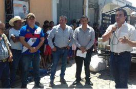 Entrega de Alimentos San Luis Jilotepeque