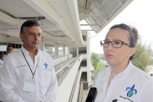 """La secretaria académica, Leticia Rodríguez Audirac, y el director general de Administración Escolar, Héctor Coronel Brizio, dijeron que """"todo el proceso se ha desarrollado en calma"""""""
