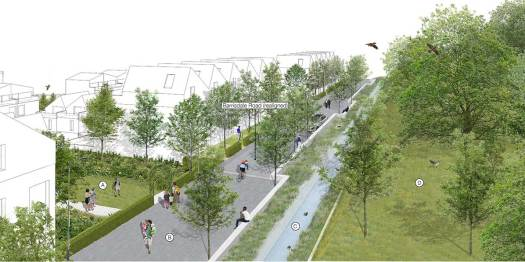 Visualisation of realigned Barrisdale Rd