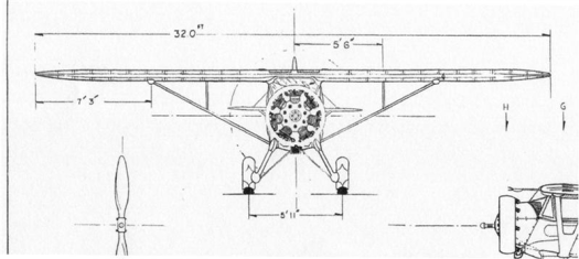 Monocoupe-110-front-view