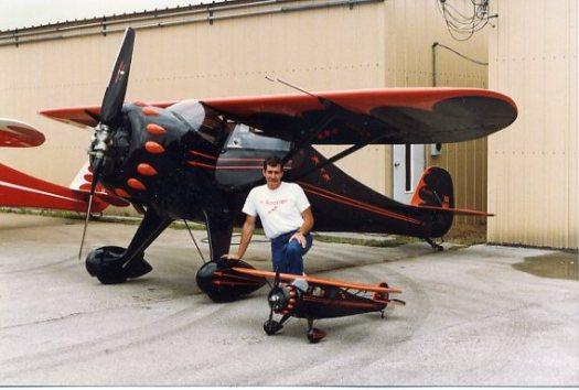 Bud Dake and Clipwing NX1161