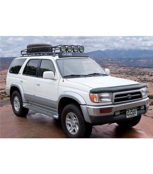 toyota 4runner 3rd gen ranger with tire rack multi light setup no sunroof