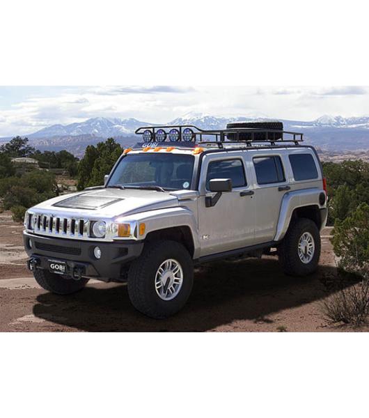 GOBI Hummer H3 Ranger Tire Carrier Rack No Sunroof Multi