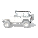 Gobi Jeep Yj Ranger Rack Multi Light Setup With Sunroof