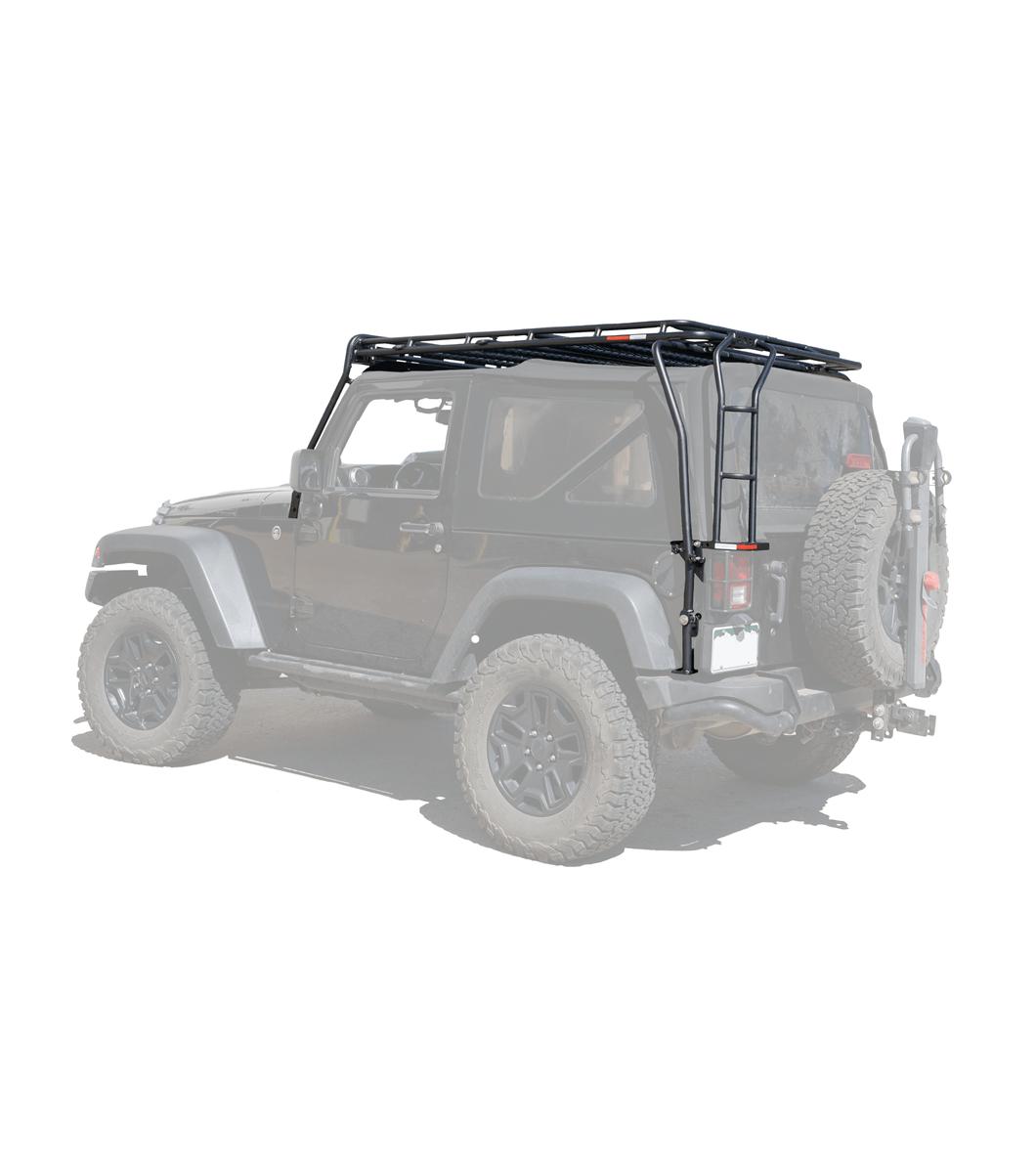 jeep jk 2door stealth rack multi light 50 led setup